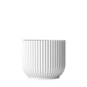 Image of   Lyngby urtepotteskjuler. Hvid, 19 cm.