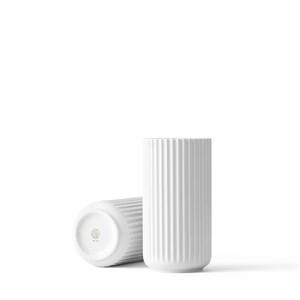 Image of   Lyngby Vase. Hvid. 20 cm.
