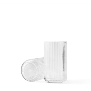 Image of   Lyngby Vase. Klar. 20 cm.