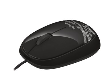 M105 Corded Mouse, Black