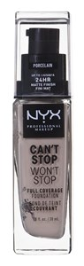 Image of   Make-up base NYX Worth The Hype Matte Foundation Porcelain