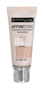Image of   Make-up foundation Maybelline Affinitone 02 Light Porcelain