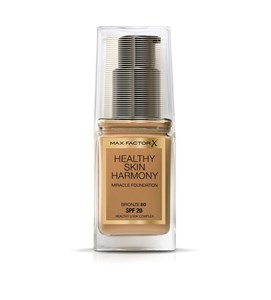 Image of   Flydende makeup foundation Healthy Skin Harmony Max Factor 80 - Bronze