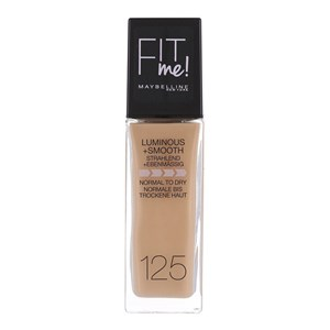 Image of   Fit Me Foundation 125 Nude Beige Pumpeflaske Væske 30 ml