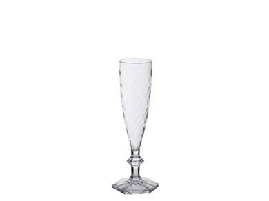 Image of   Champagneglas Krystalplast