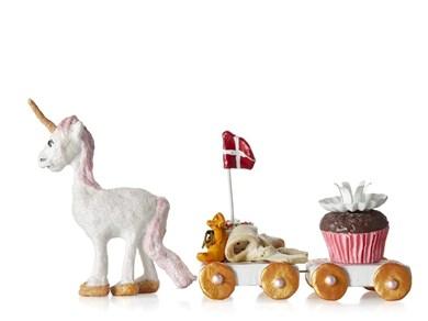 Image of   Figur Daisy vognsæt 11cm