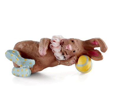 Image of   Figur Heidi the sleeping Rabbit 4 cm