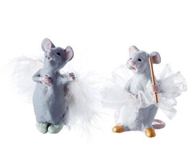 Image of   Figur Mus Olivia og Ofelia