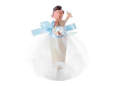 Image of   Molly med baby Blå 16cm