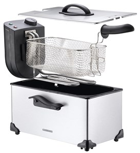 Melissa Friture, 3.0L, sort & s/s, 2200 watt