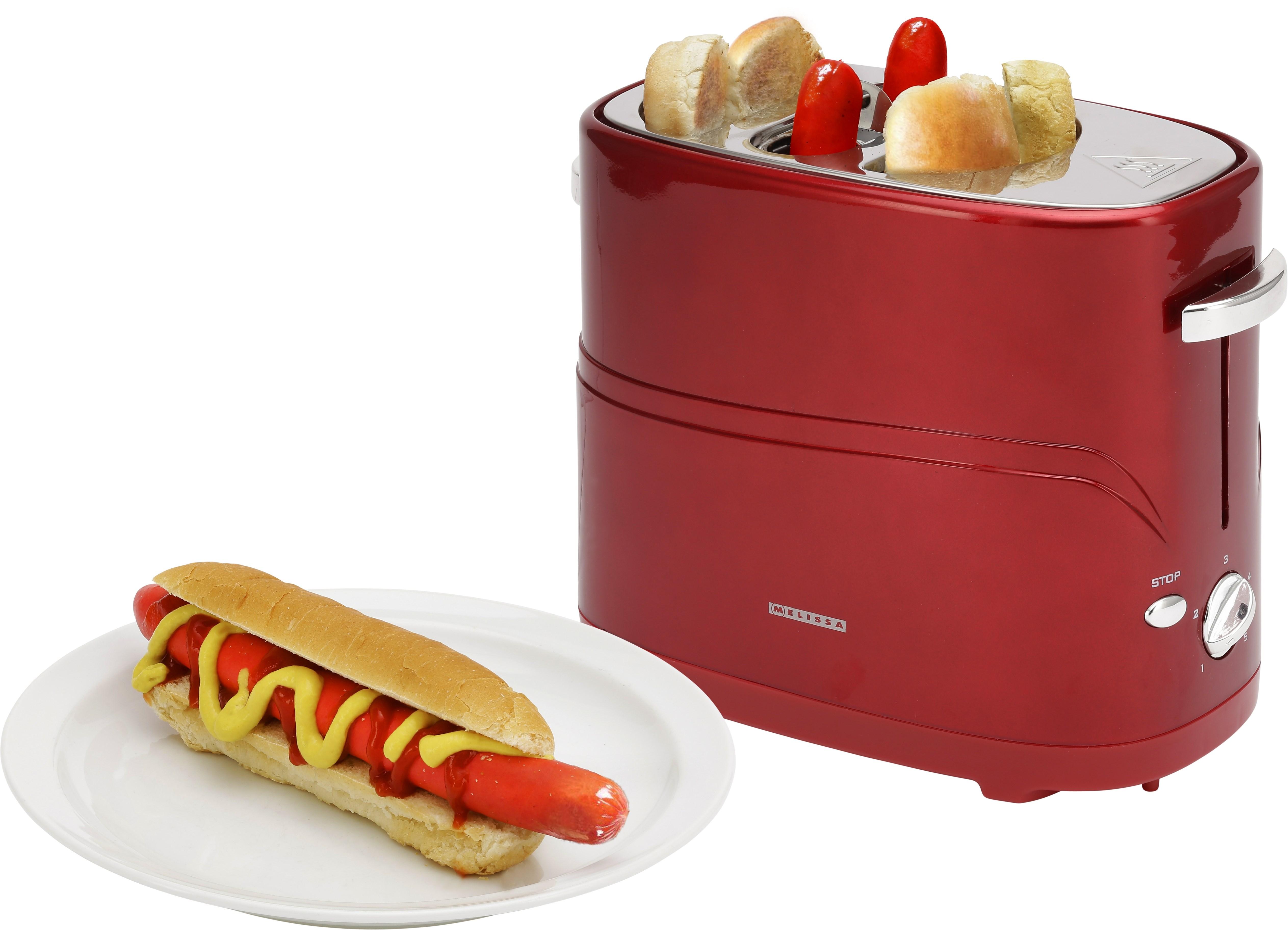 melissa hot dog maker metallic r d k kkenmaskine. Black Bedroom Furniture Sets. Home Design Ideas