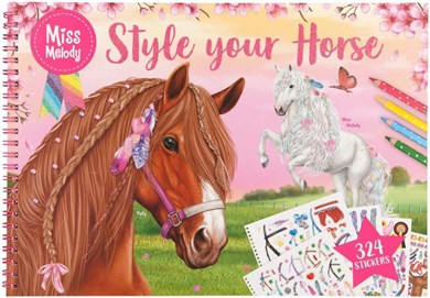 Depesche Miss Melody - Colouring Book - Style Your Horse (0410930)