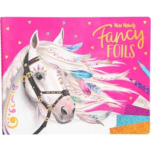 Depesche Miss Melody - Fancy Foils  Colouring Book (0410352)