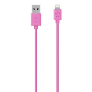 MIXIT Lightning ChargeSync Cable, Pink (1,2m)