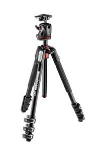 MK190XPRO4-BHQ2 kamerastativ Digital-/filmkameraer 3 ben Sort