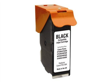 MM Print Supplies Black Inkjet Cartridge (PGI-5BK)