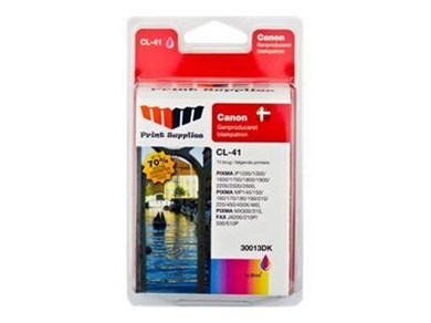 MM Print Supplies Color Inkjet Cartridge (CL-41)