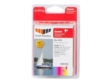 MM Print Supplies Color Inkjet Cartridge HC (CL-513)