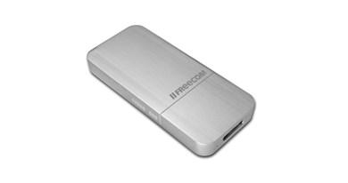 Image of   mSSD - Ekstern SSD-harddisk i kabinet af aluminium med 128G