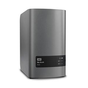Image of   My Book Duo ekstern harddisk 8000 GB Sølv