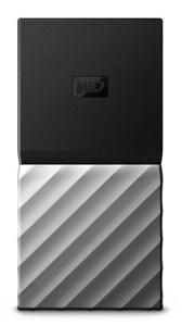 Image of   My Passport SSD 2000 GB Sort, Sølv