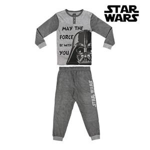 Nattøj Børns Star Wars Grå 6 år