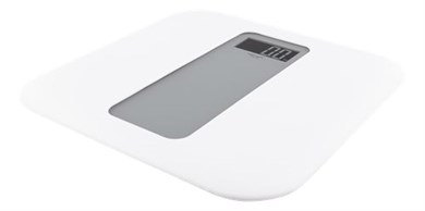 Image of   NORDIC HOME CULTURE Electronic personal scale, stylish, tempered glass