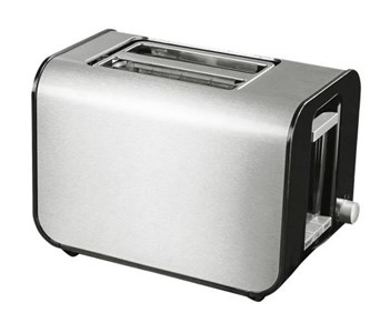 NordicHome NORDIC HOME CULTURE God Middag toaster, stainless steel, silver/black