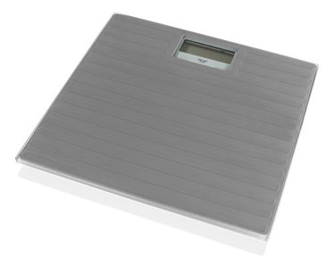 Image of   NORDIC HOME CULTURE personal scale, tempered glass, max 150kg, gray