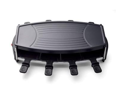 Billede af Raclette 8 pers. 1000 watt Sort