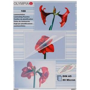 Image of   1x100 DIN A5 80 micron plastlomme 100 stk