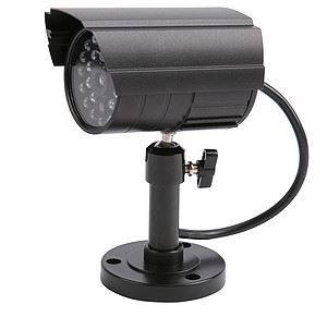 Image of   DC 500 falsk overvågningskamera Kugle Sort