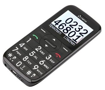 "Image of   Happy II 5,59 cm (2.2"") 78 g Sort, Blå, Guld, Rød Camera phone"