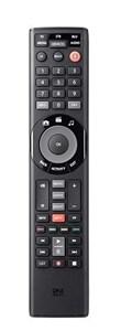 Image of   Smart Control 5 fjernbetjening IR trådløs Kabel, DTT, DVD/Blu-ray, Spillekonsol, Hjemmebiografsystem, IPTV, Smartphone, TNT, TV, TV set-top-boks Tryk på knapper