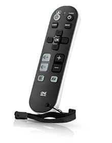 Image of   URC6810 fjernbetjening Lyd, Hjemmebiografsystem, STB, TV, TV set-top-boks Tryk på knapper