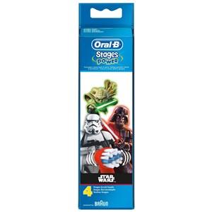 Image of   160953 børstehoved til elektrisk tandbørste 4 stk Flerfarvet