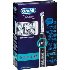 Image of   Teen Teenagere Roterende, pulserende tandbørste Hvid, Sort