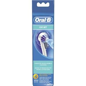 Billede af 80298118 børstehoved til elektrisk tandbørste 4 stk Blå, Hvid