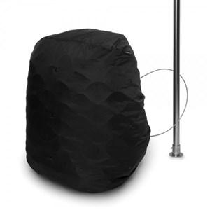 Image of   C25L Bagage hængelås Nylon, Rustfrit stål Sort