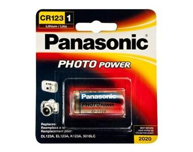 Image of   CR-123APA/1B husholdningsbatteri Engangsbatteri Lithium