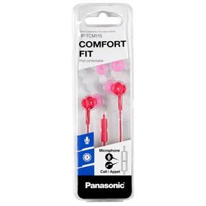 RP-TCM115E Headset I ørerne Pink