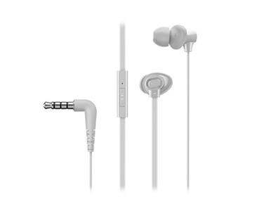 RP-TCM130E-W hovedtelefoner/headset I ørerne Hvid