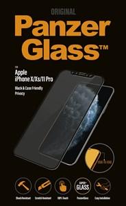 Billede af PanzerGlass iPhone X/Xs/11 Pro Privacy, Black (Case Friendly