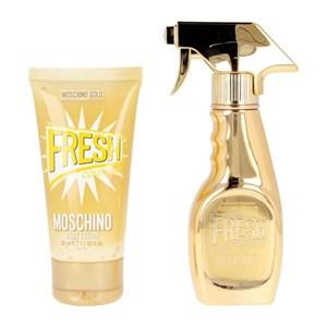 Parfume sæt til kvinder Gold Fresh Couture Moschino EDP (2 pcs)