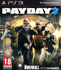 Image of Payday 2 PS3 videospil PlayStation 3