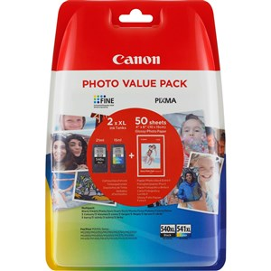 Canon PG-540XL value pack & 10x15 GP 501 (50)