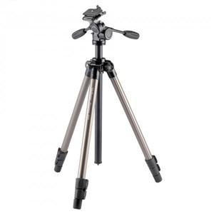 Image of   PHD-65D kamerastativ Digital-/filmkameraer 3 ben Sort, Sølv
