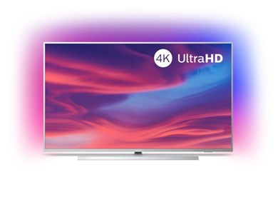 "Image of   7300 series 55PUS7334/12 TV 139,7 cm (55"") 4K Ultra HD Smart TV Wi-Fi Sølv"