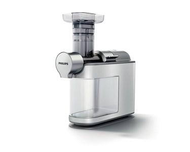 Image of   Avance Collection HR1945/80 citruspresser og juicemaskine Slow juicer Grå, Hvid 200 W