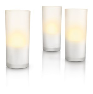 Philips IMAGEO LED Candles 3 set inkl hvid lader